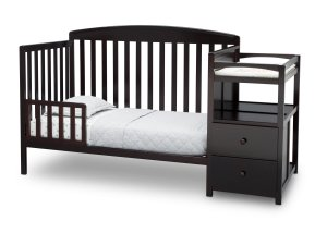 Delta Children Royal Convertible Crib N Changer White - Walmart.com