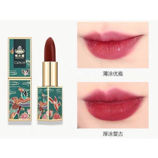 💄美妆|🧚♀️五支中国风口红试色!秋冬必备百搭!
