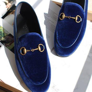 天鹅绒乐福鞋 (8码 8.5码)