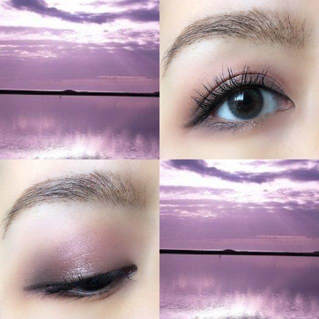 梦幻粉紫眼妆分享 | 此Nudes...