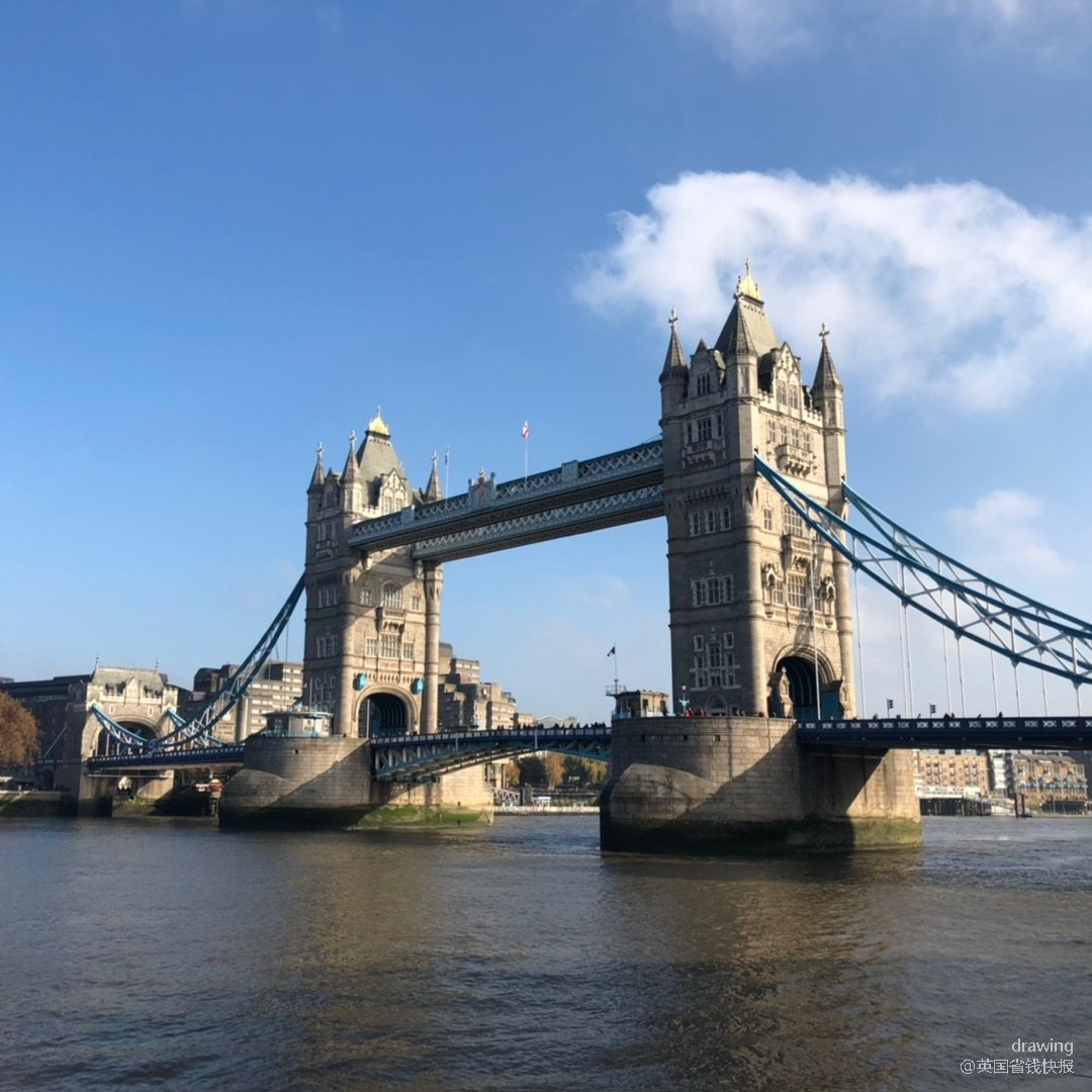 伦敦打卡🇬🇧tower bridge塔桥