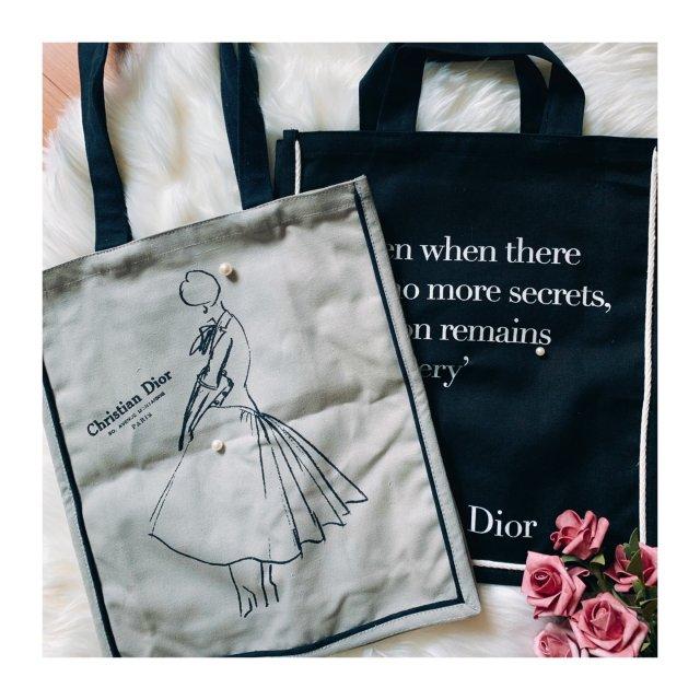 【被种草的帆布包】Dior和V&A...