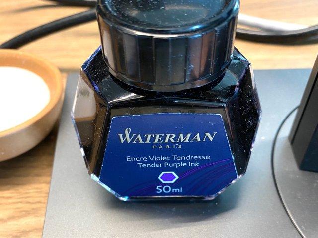 【鼠年7.2】waterman 墨水