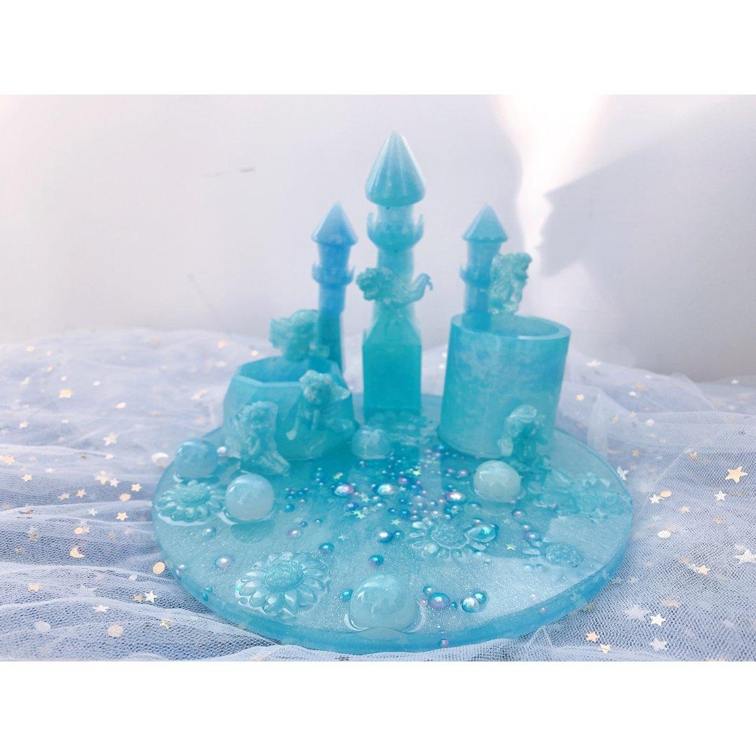雪精灵🧚♀️小城堡