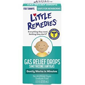 $4.97 Little Remedies Infants and Children Tummy Relief Drops, Natural Berry Flavor, .5 Ounce