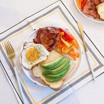 今天早上做的早餐 剛剛赶上了君君的活動 大家wfh更加...