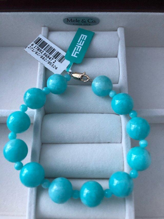 Effy 海蓝宝石手链