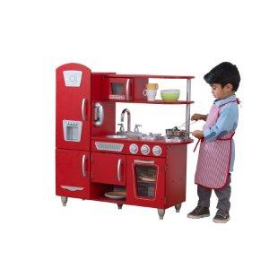 KidKraft Vintage Play Kitchen - Red @ Walmart - Dealmoon