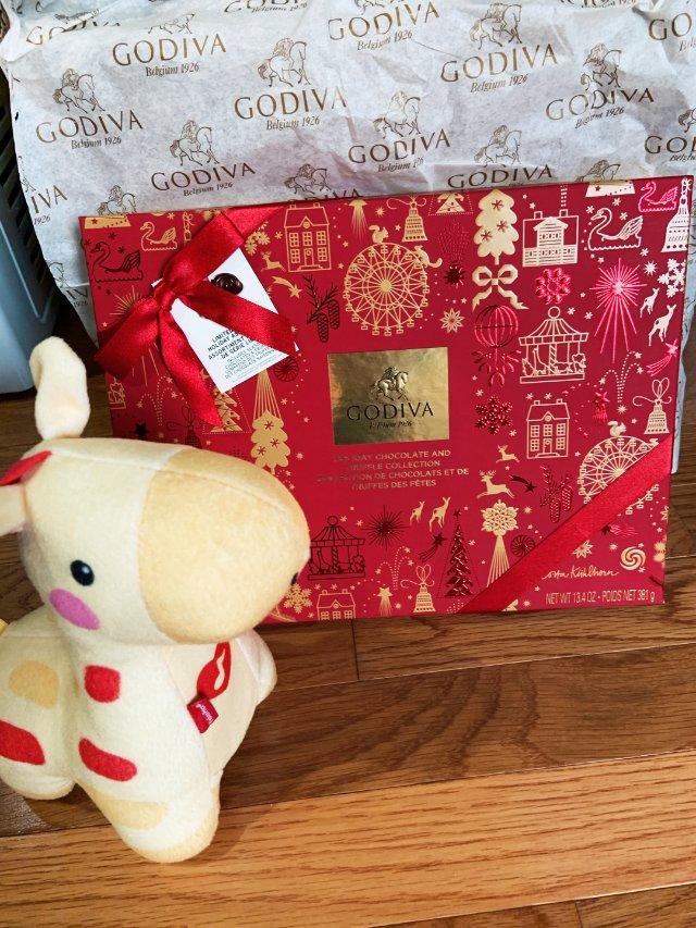 Godiva圣诞礼盒32ct