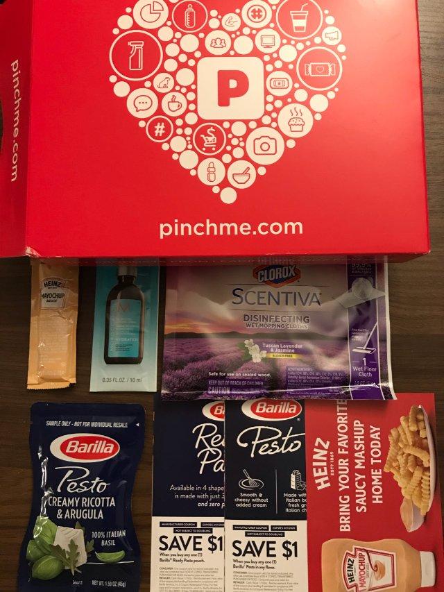 这个月的Pinchme Box
