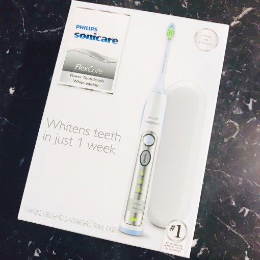 飞利浦 FlexCare可充电电动牙刷$38好价格✌️