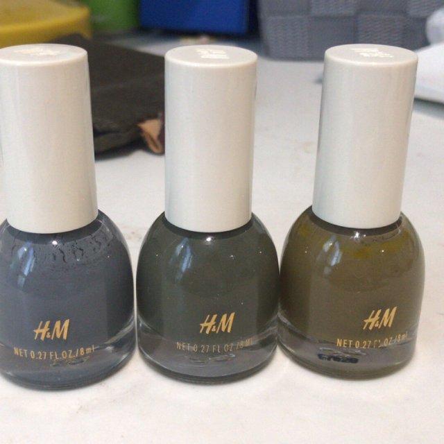 夏天的颜色~H&M指甲油