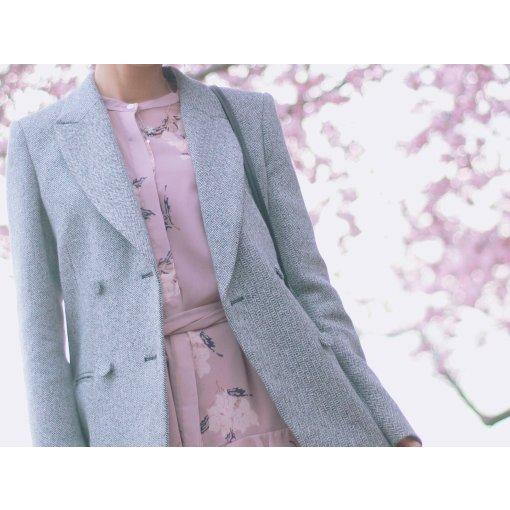 灰色粉色黑色◻️🎀◼️.春季气质Blazer推荐