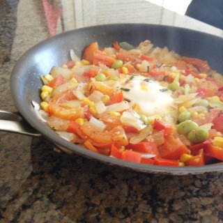 减脂快手餐|蔬菜蛋🍳...