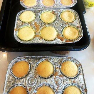 疫情在家,自制纸杯蛋糕,Costco 薯...