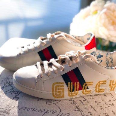 Guccy Logo小白鞋