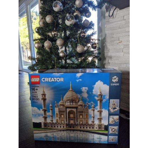 圣诞礼物 lego泰姬陵
