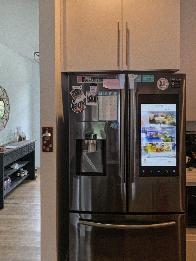 🏠家居发现| 这么酷的高科技冰箱!