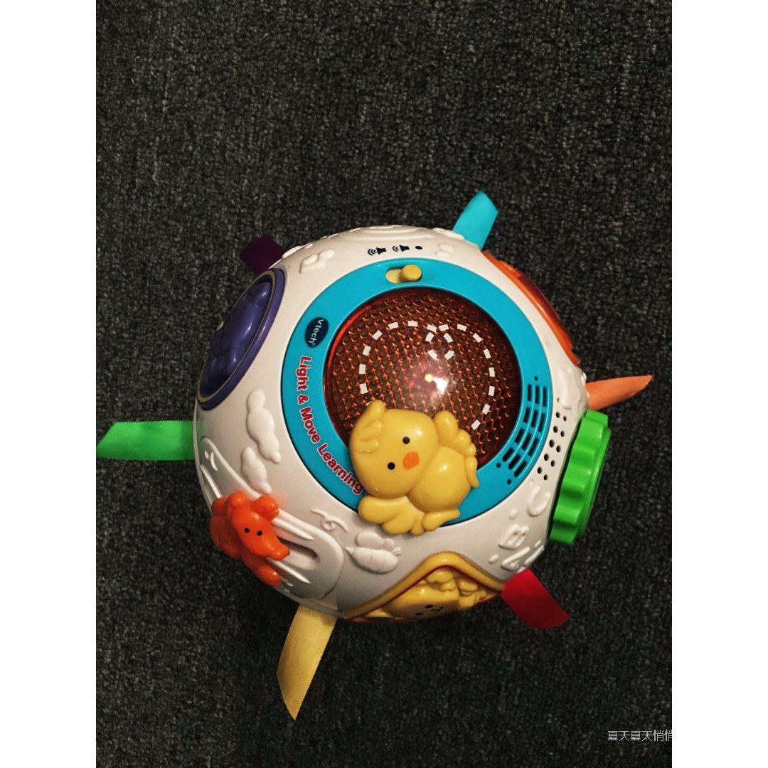 小黄鸡转圈圈的玩具球
