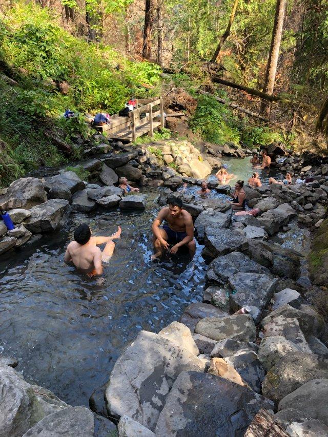天然温泉♨️