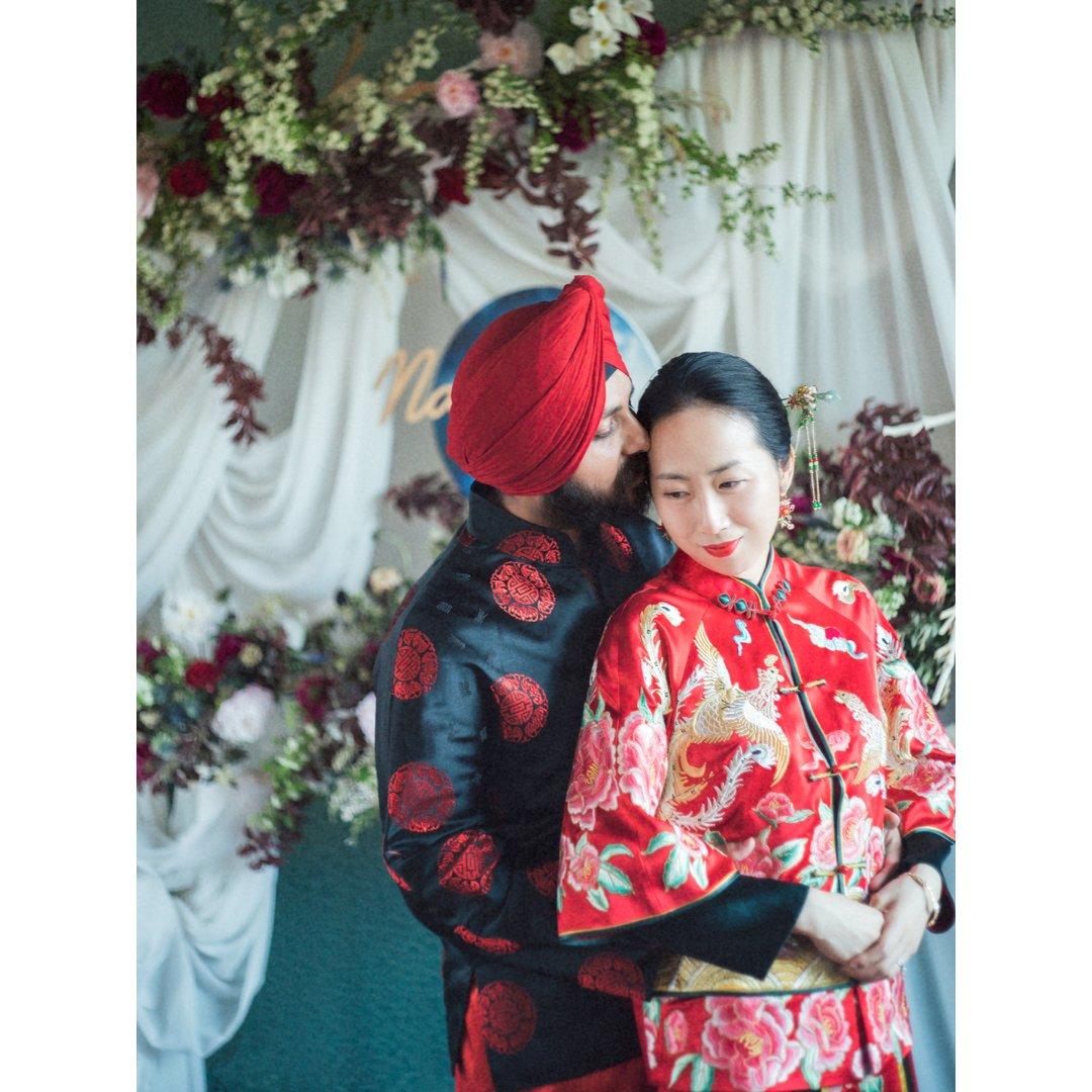 婚礼小忆 | 新郎与芥末墩儿😂