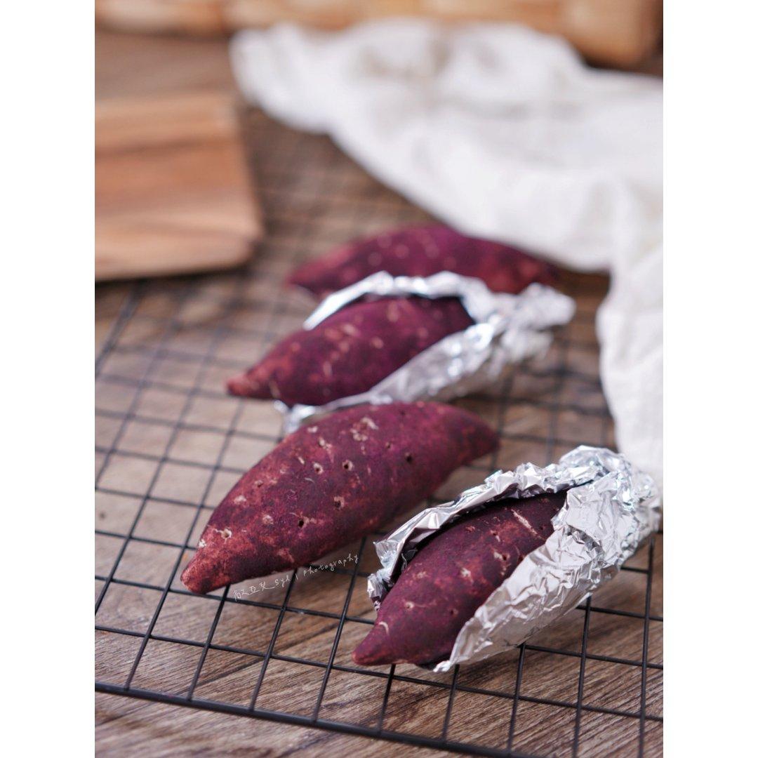 你以為它是烤紫薯嗎?可以再看一次。