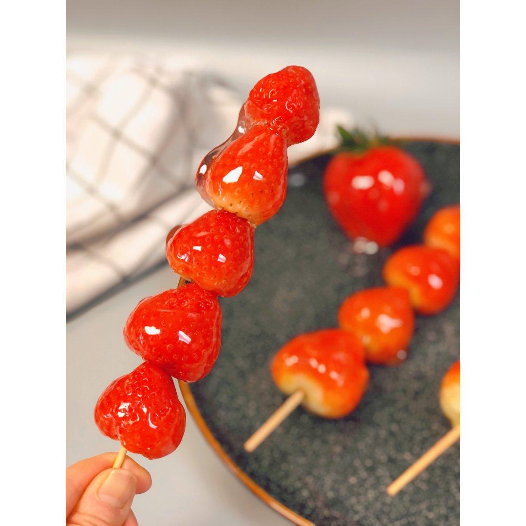 草莓Tanghulu/嘎脆嘎脆好好吃😋...