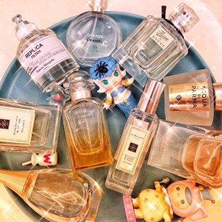 hermes李先生的花园,MM干油香水,爱马仕之光,Jo Malone忍冬与印蒿,Dior 迪奥