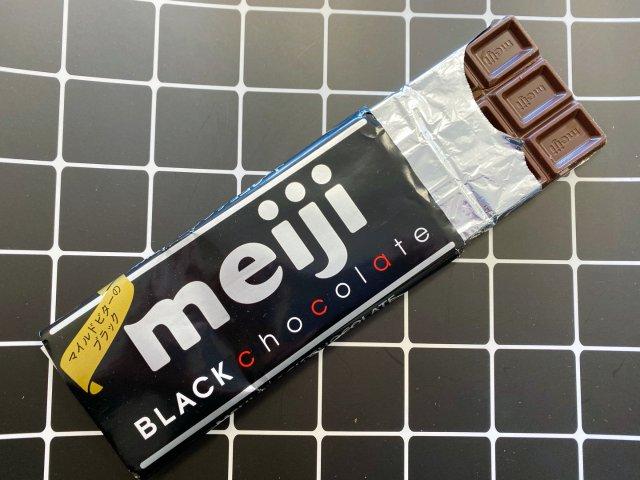 零食推荐丨明治黑巧克力