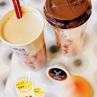 转角的偶遇:蜜桃🍑乌龙牛乳茶🥤...
