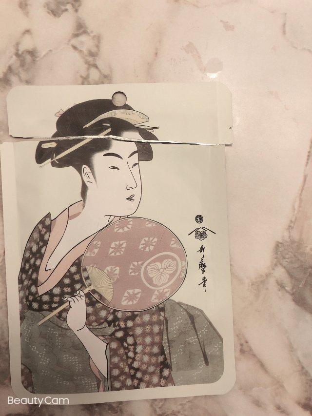 日本艺妓面膜
