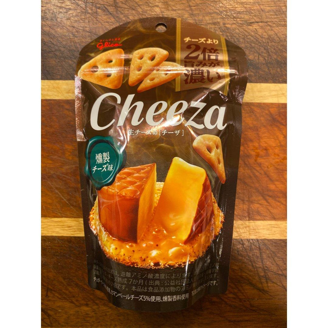 褐色包装的cheeza