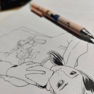 💜秀一下好朋友送我的香芋紫兔兔衣服+漫画...