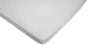 $8American Baby Company Waterproof fitted Quilted Portable/Mini Crib Mattress Pad Cover
