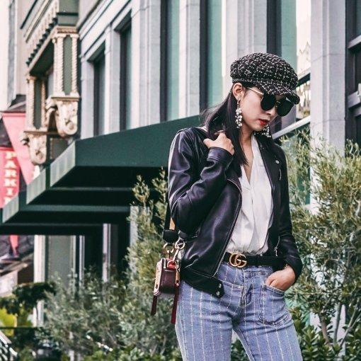#昆娜穿搭# Zara大法好,换季瞬间变身酷女孩