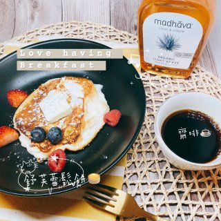 元气早餐 🥞 舒芙蕾鬆餅🌞...