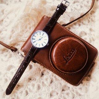 🇬🇧设计🇯🇵匠心🇮🇹皮革的ADEXE小众手表