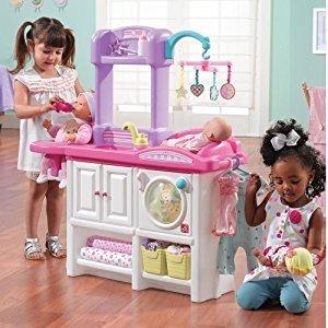 低至$49.99 新品加入step2 豪华玩具婴儿护理台、小厨房、玩具车等特卖