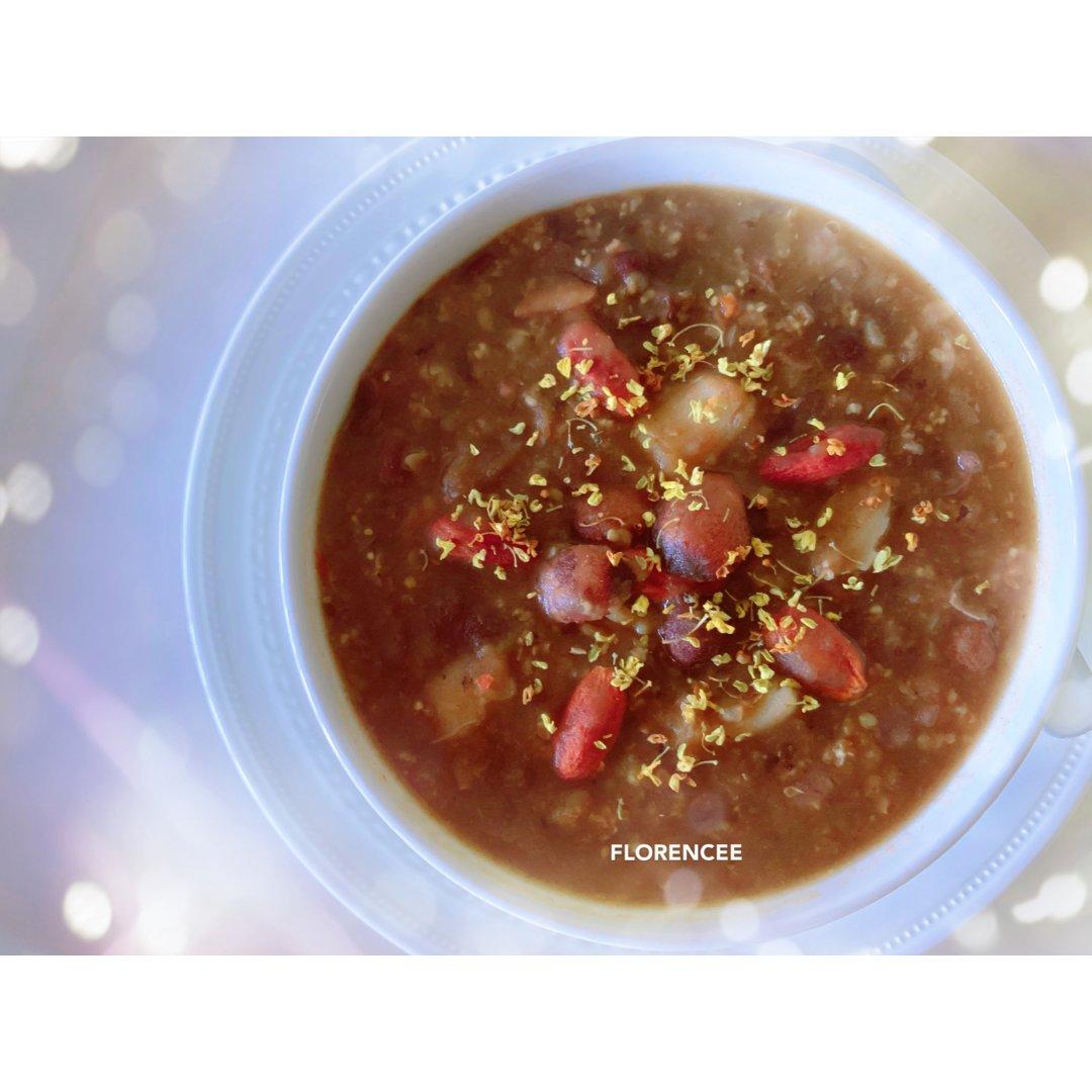 早餐吃什么🤔莲子百合红豆小米粥
