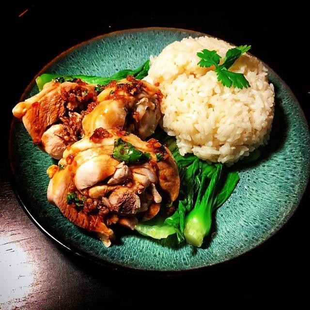 海南传统风味主食海南鸡饭分享