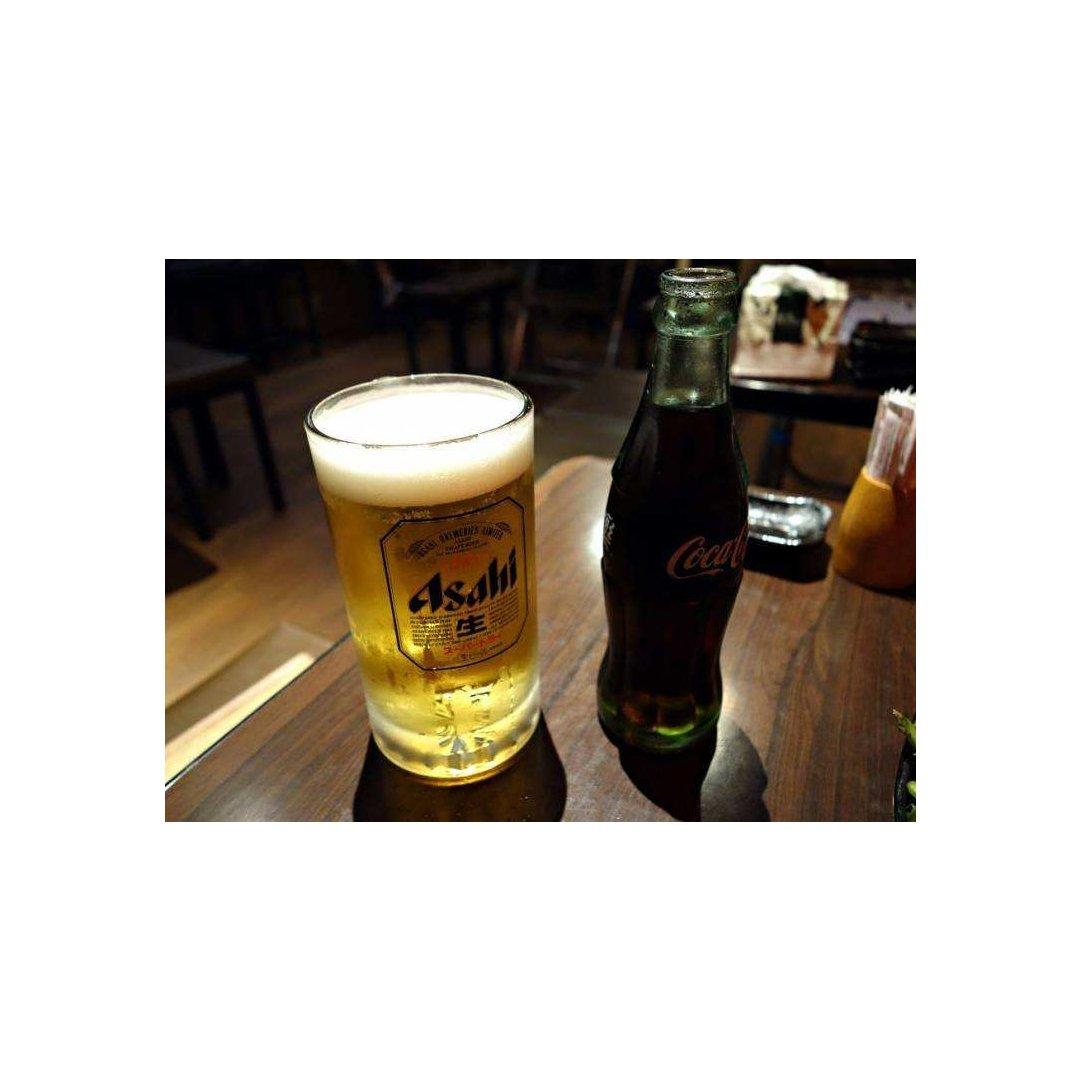一个人的时候还是喝杯啤酒最舒服...