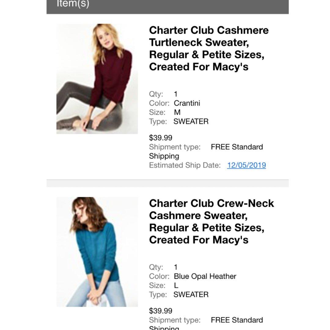 羊绒衫 Macy's