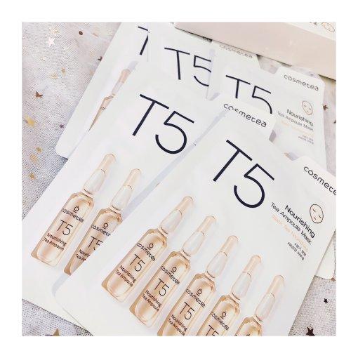 【微众测】Cosmetea 茶安瓿精华面膜