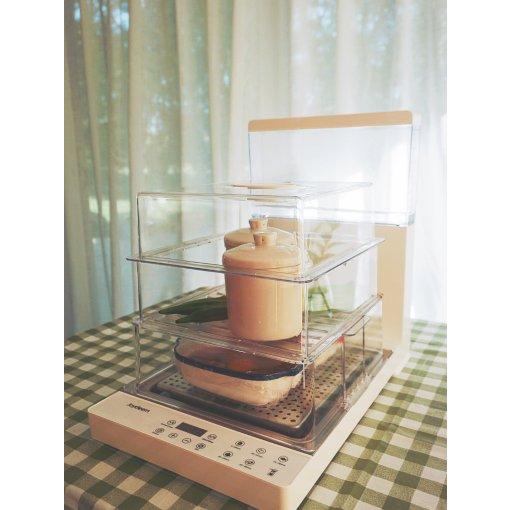Joydeem折叠电蒸锅,炎炎夏日的轻食主义【二】