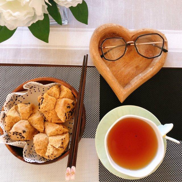 早餐、下午茶☕️吃什么,自制发糕简...