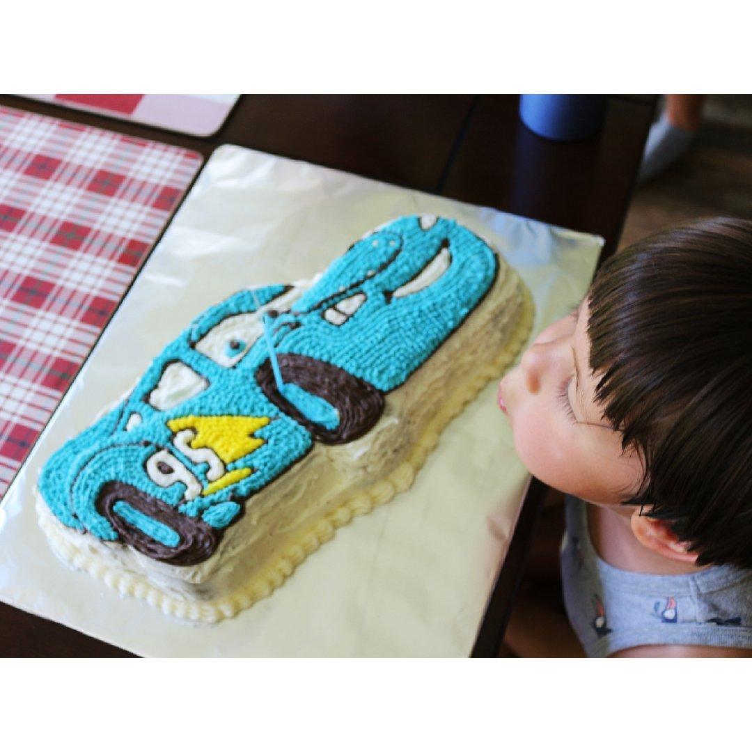 #一年两次系列#小魔怪的生日蛋糕