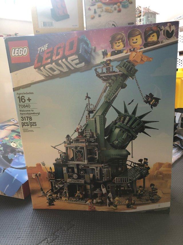 Lego-末日堡,早起的鸟儿要剁手