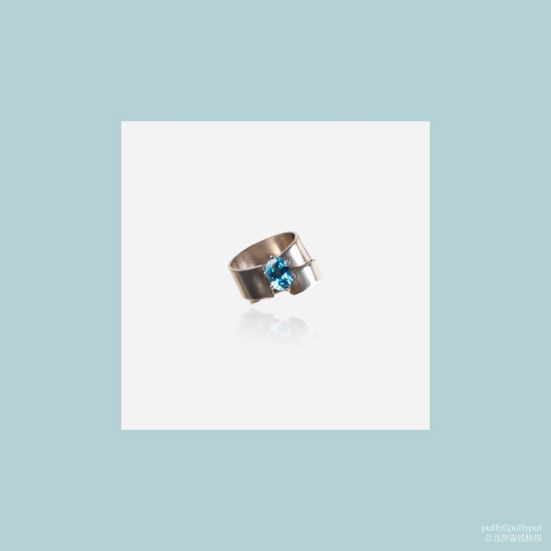 无限之二|925银拓帕石戒指
