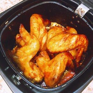 🌿空气炸锅版 | 蜜汁烤鸡翅...
