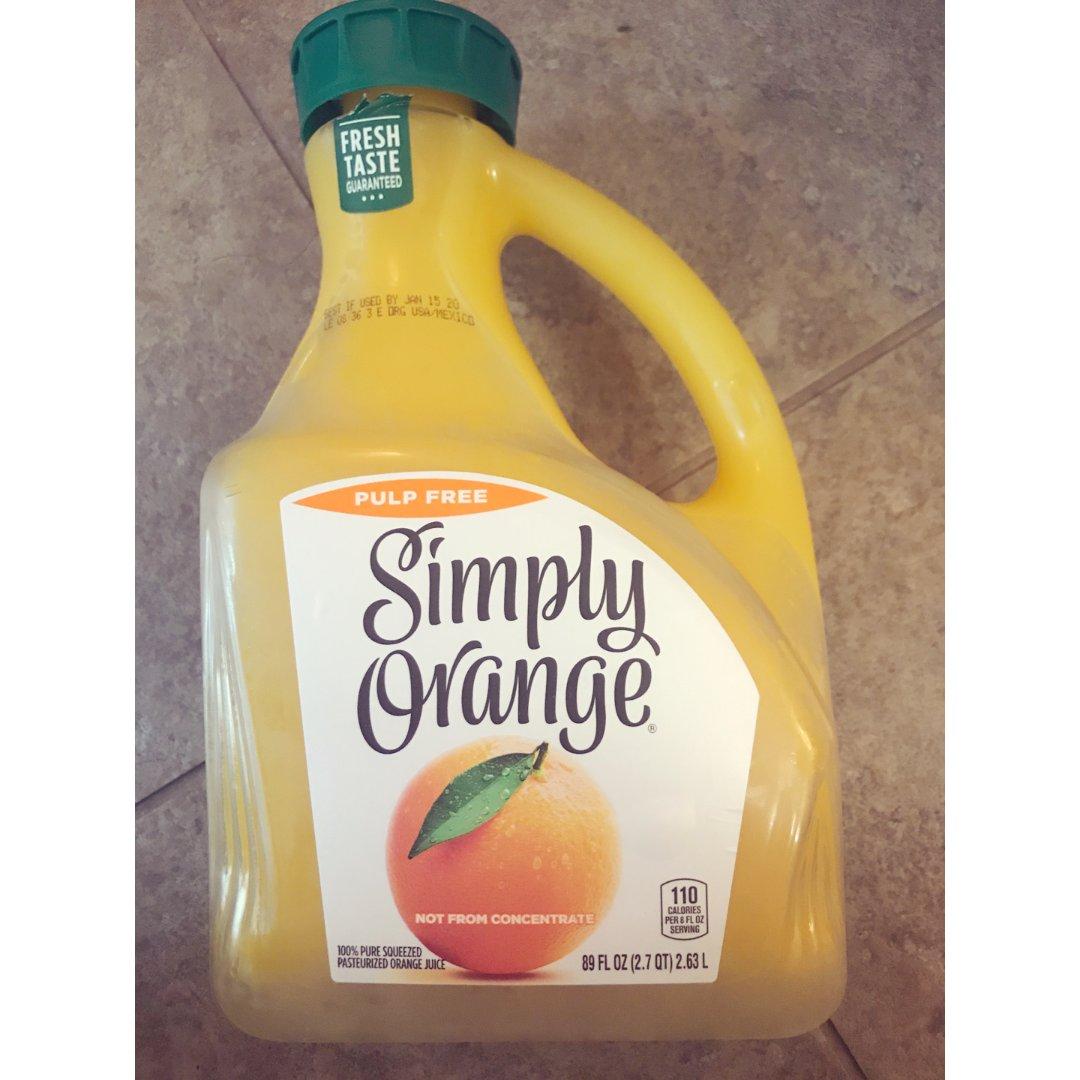 Simply 橙汁